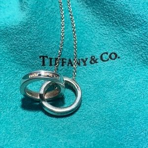 Tiffany & Co. Sterling Interlocking Circles